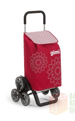 Сумка-тележка Gimi TRIS Floral Red